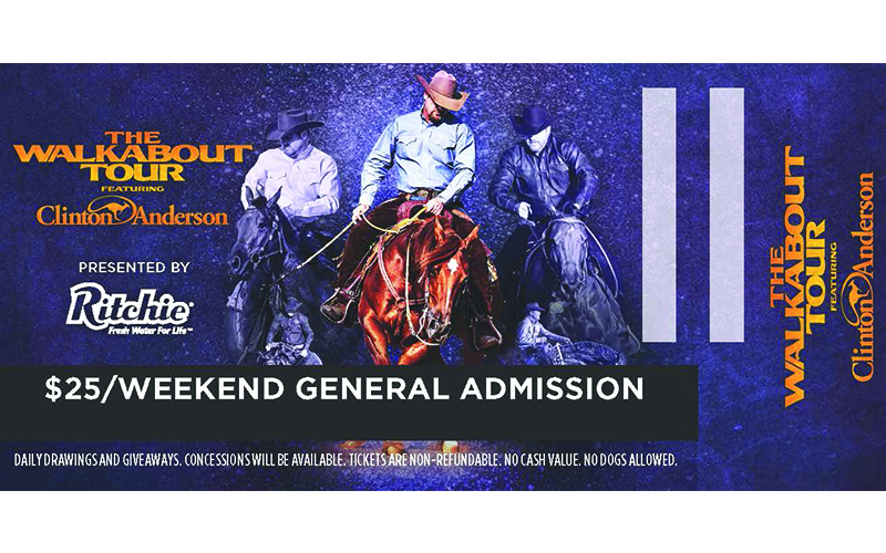 WALKABOUT TOUR DRIPPING SPRINGS, TX — GENERAL ADMISSION TICKET