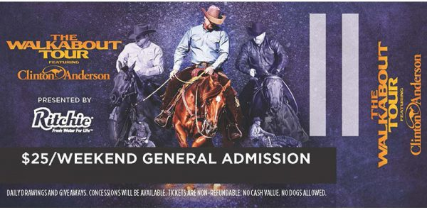 Walkabout Tour 2020 General Admission Ticket
